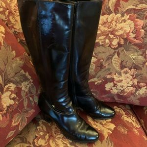Salvatore Ferragamo Riding Boots Women's 5 1/2